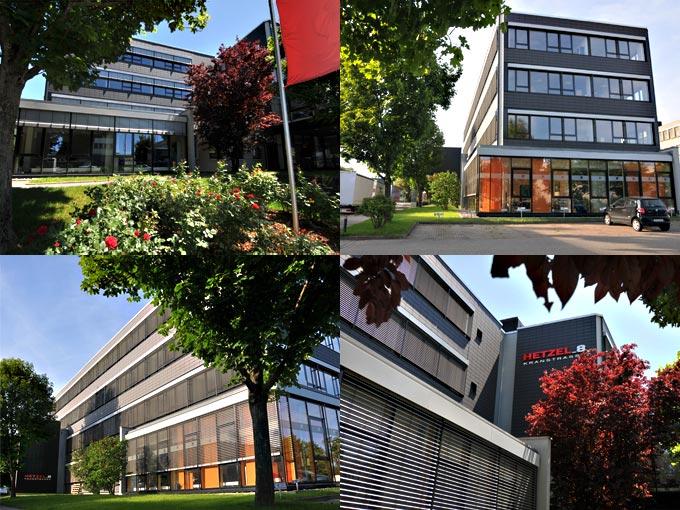 Ansichten des Hetzel_8-Gebäudes
